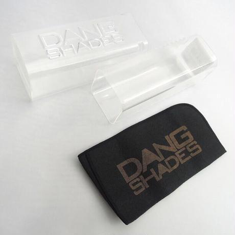 【DANG SHADES】ORIGINAL Slate Blue Matte x Black