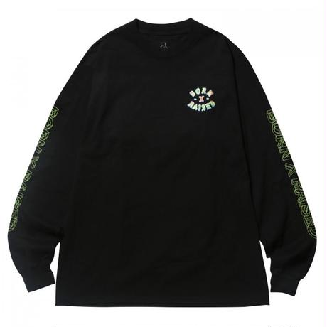 【BORN × RAISED】HEAT SEEKER L/S TEE