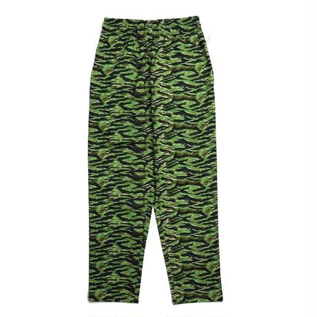 【COOKMAN】Chef Pants Ripstop Camo Green (Tiger)
