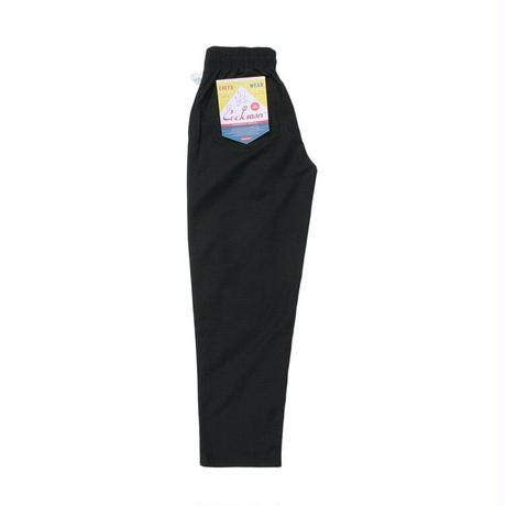 【COOKMAN】Chef Pants Ripstop Black