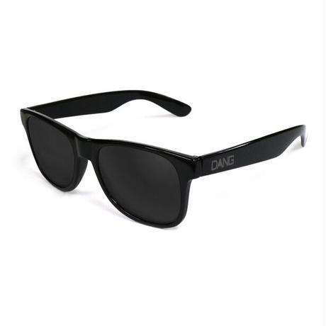 【DANG SHADES】LOCO Black Gloss x Black w/ Gray logo