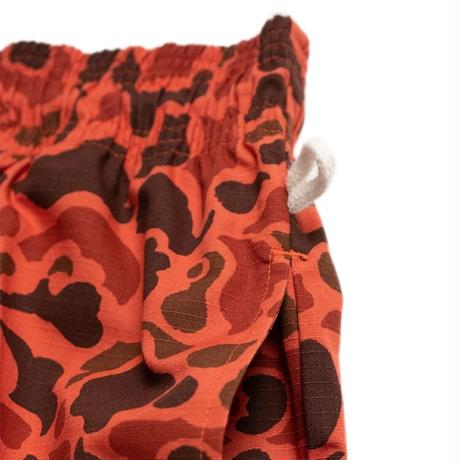 【COOKMAN】Chef Pants Ripstop Camo Red (Duck Hunter)