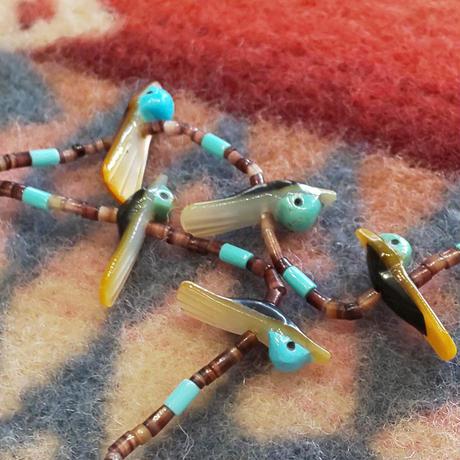 ZUNI 『FETISH NECKLACE (WATER BIRDS)』
