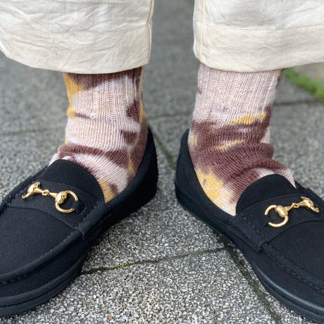 (再入荷) Nasngwam. ×JAVARA×A HOPE HEMP 『EARTH SOCKS(2COLOR)』