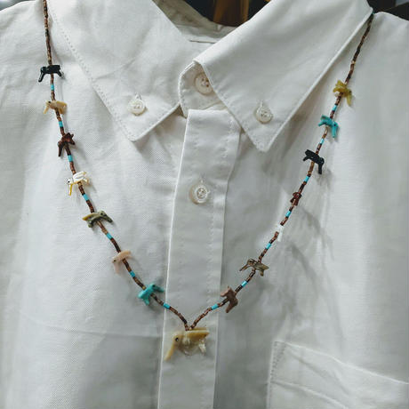 ZUNI 『FETISH NECKLACE (BIRDS)』