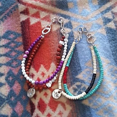 Tsunai Haiya 『COLORFIELD BEADS ANKLET(ビーズアンクレット) C』
