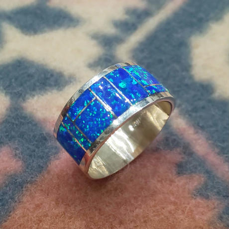ZUNI 『INLAY LAME RING(WIDE) 21号』
