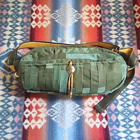 Nasngwam. ×EARLY MORNING『DAILY WAIST BAG Mサイズ (ARMY inlay) 』