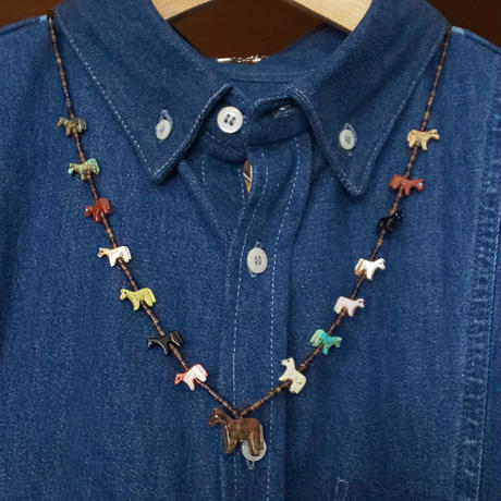 ZUNI 『FETISH NECKLACE (HORSES)』