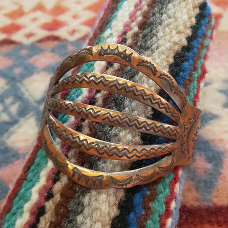 VINTAGE 『40's COPPER BANGLE』