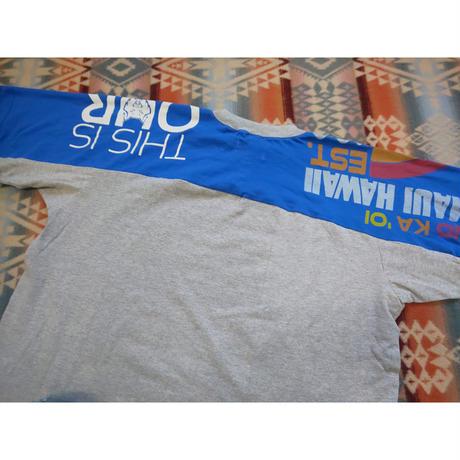 Nasngwam. 『BOTH TEE(BLUE) Mサイズ(B)』