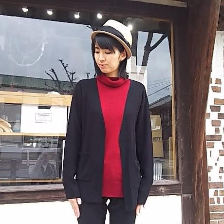 Nasngwam. 『REPEL CARDIGAN(BLACK)』