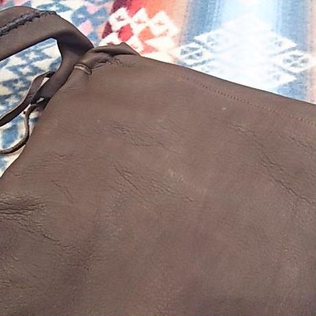 EARLY MORNING 『SHOULDER BAG (DEER)Mサイズ (BROWN)』