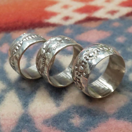 NAVAJO 『925SILVER RING(WIDE)』