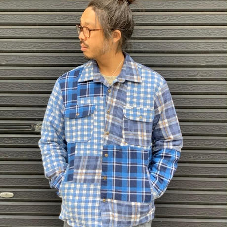 Nasngwam. 『WINTER SKELTER JACKET(CHECK) Sサイズ』
