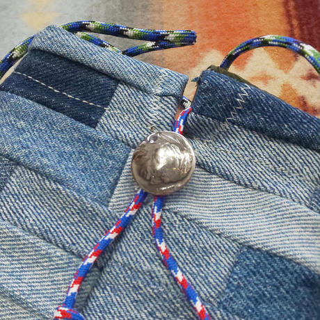 Nasngwam.×EARLY MORNING 『CONNECT POUCH(DENIM)』