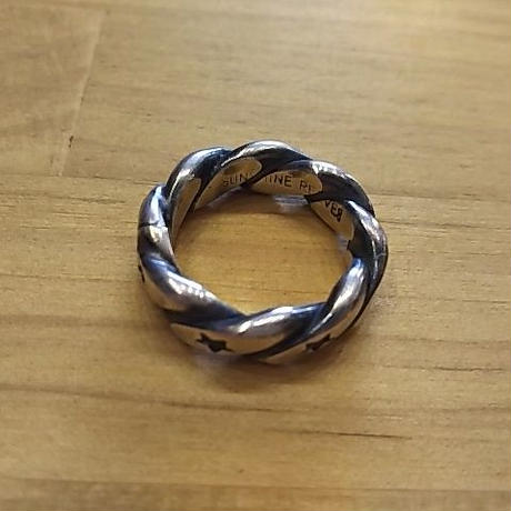 【SALE】 NAVAJO 『TWIST STAR RING(Sunshine Reeves) 16号』