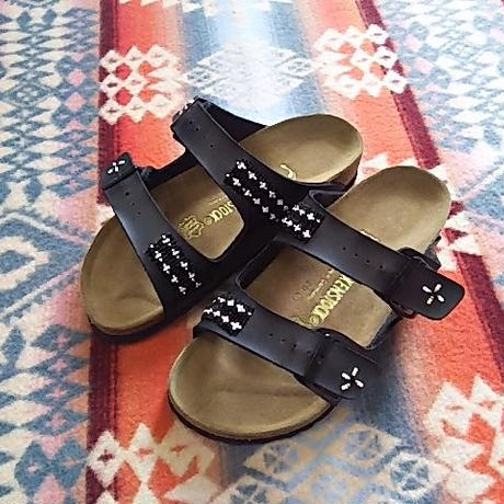 EARLY MORNING 『BEADS SANDAL(ARIZONA black) 36サイズ』