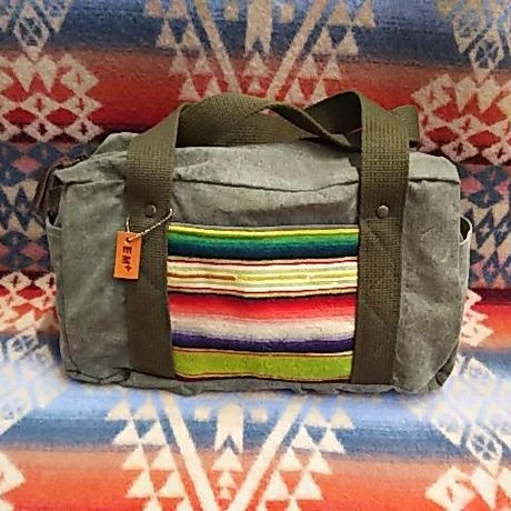 【SALE】 EARLY MORNING 『OLD SARAPE PONY BAG』