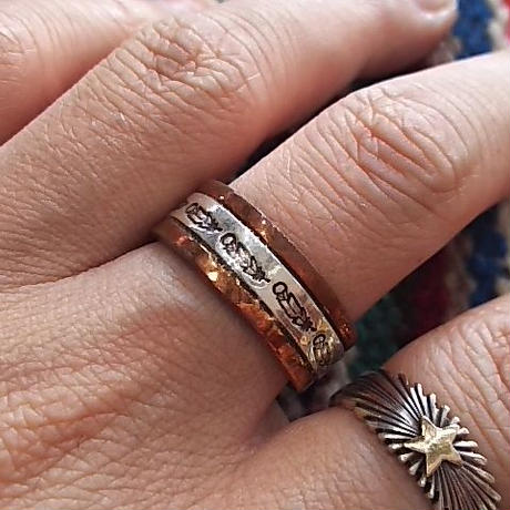 NAVAJO 『MIX RING (Wylie Secatero) 23号』