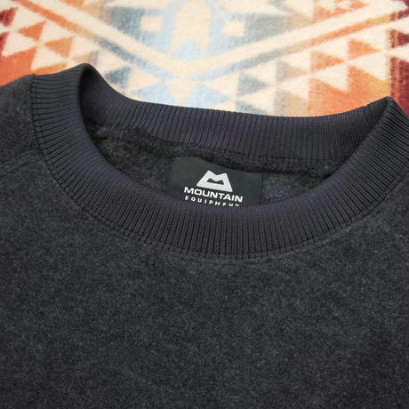MOUNTAIN EQUIPMENT 『HEATHER FLEECE SWEATER(L.GRAY&CHARCOAL)』
