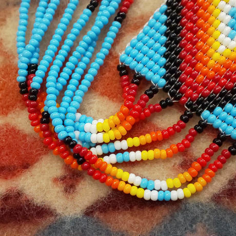 NAVAJO 『BEADS NECKLACE&PIERCE SET(TURQUOISE)』
