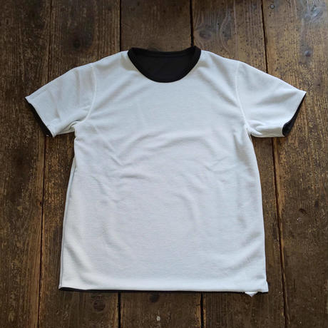 MOUNTAIN EQUIPMENT 『QD REVERSIBLE TEE(WHITE&BLACK)』