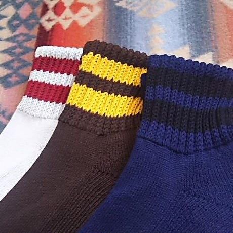 【SALE】 ionoi 『O.S LINE SOCKS SHORT(3COLOR)』