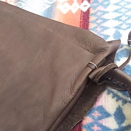 EARLY MORNING 『SHOULDER BAG (DEER)Mサイズ (BROWN)』