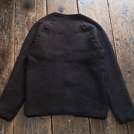 MOUNTAIN EQUIPMENT 『PILE FLEECE CARDIGAN (BLACK)』