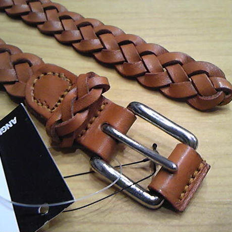 【SALE】 ANGLO LEATHERCRAFT 『BRAID BELT』