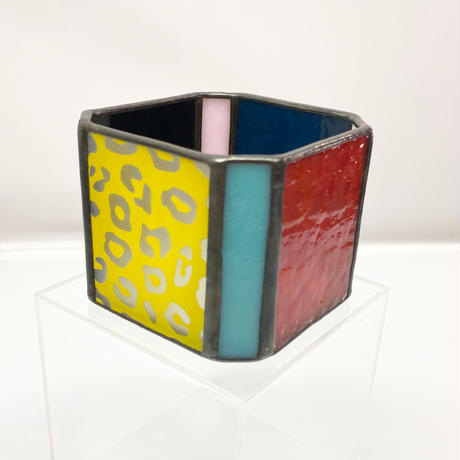 Stained Glass Pot / a