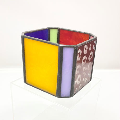 Stained Glass Pot / c