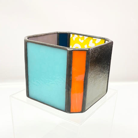Stained Glass Pot / b