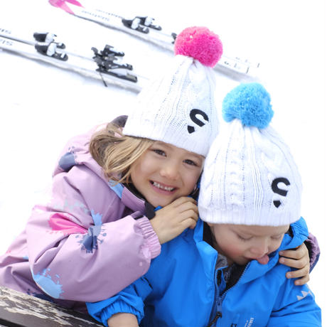 Kids knit hat