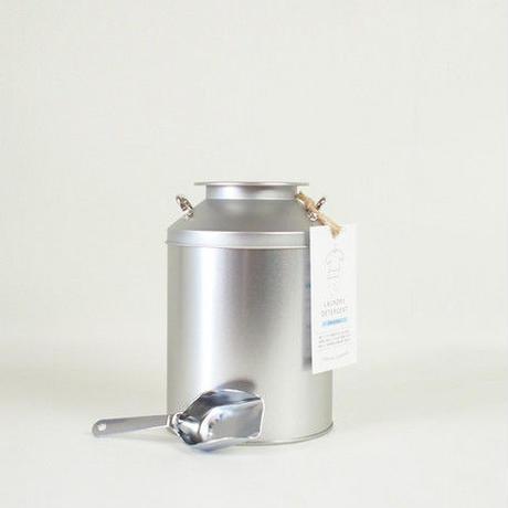 とみおかクリーニング オリジナル洗濯洗剤(ミルク缶入り)※ステンレス計量スプーンは付属しておりません。