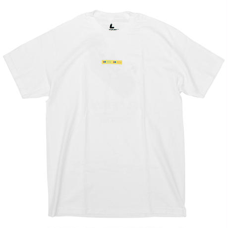 THANK YOU TAPE S/S TEE WHITE