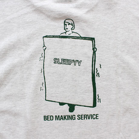 BED MAKING SERVICE S/S TEE ASH