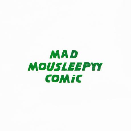 MAD MOUSLEEPYY COMIC L/S TEE