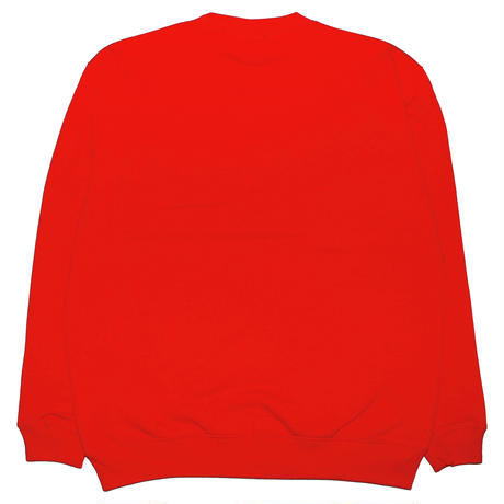 SLEEPYY ALLDAY CREWNECK RED