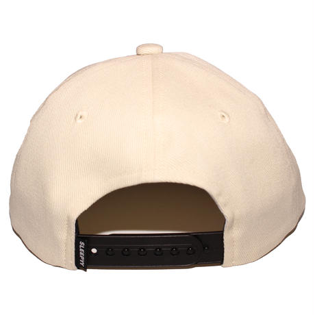 FACE LOGO CAP IVORY