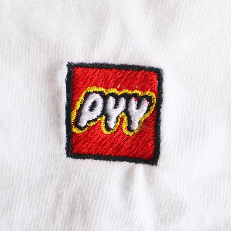 """""""PYY"""" S/S TEE WHITE"""