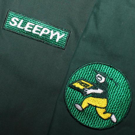 SLEEPYY PIZZA DELIVERY JACKET GREEN