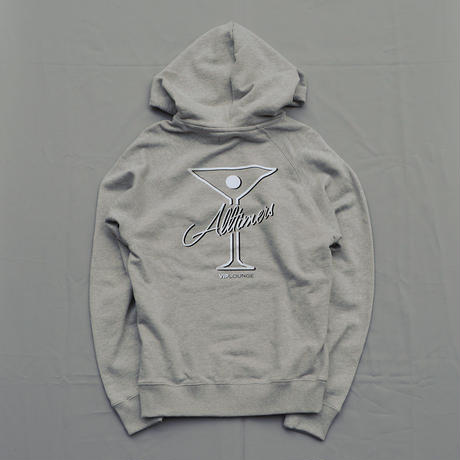 Alltimers League Player Flock Hoodie - Gray/White