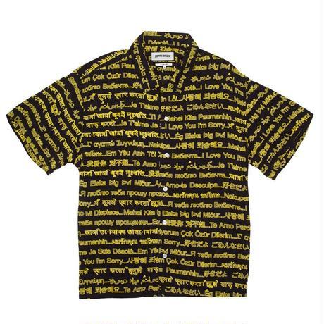 Fucking Awesome I Love You I'm Sorry Club Shirt - Black/Yellow