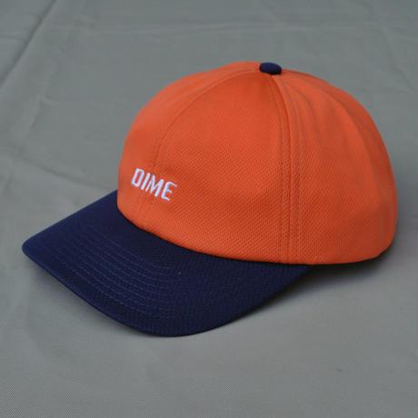 Dime Mesh Snap-Back Cap - Coral/Navy