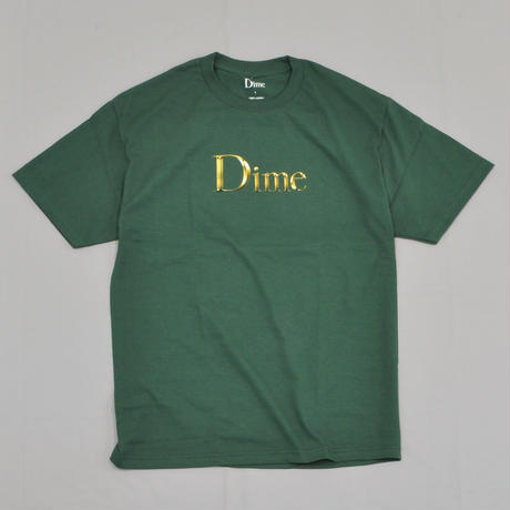 Dime Legendary Classic Logo T-Shirt - Emerald Green