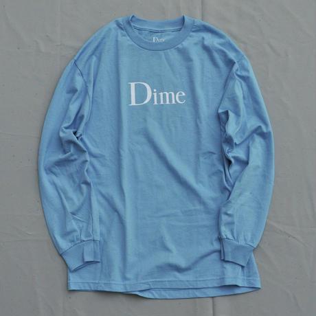 Dime Classic Logo Longsleeve T-Shirt - Blue