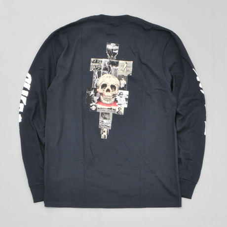 Fucking Awesome KB Collage Longsleeve Tee - Black
