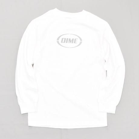 Dime Fast Longsleeve T-Shirt - White